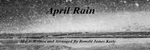 Ronald Karle - April Rain Mini Concerto
