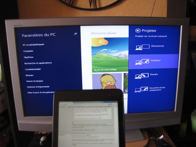 Dell Venue 8 Pro full review - Extended features - Wireless video display on external monitor (Miracast)