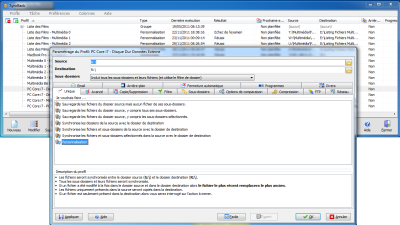 SyncBack: complete file synchronization and backup software